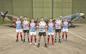 canterbury unveils new raf spitfires rugby 7s spitfires kit for