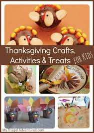 thanksgiving activities and crafts for children my frugal adventures