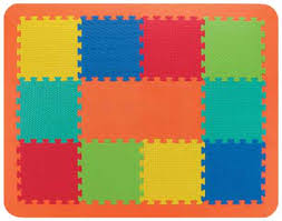 tappeti puzzle per bambini atossici mat color 120 set completo nm spec assortment