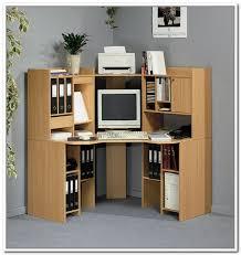 Corner Desk Units Corner Desk With Shelves Ideas All Furniture Onsingularity