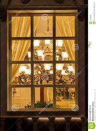 Commercial Christmas Decorations For Shops by A Classic Lighting In A Lighting Shop Window At Night Home