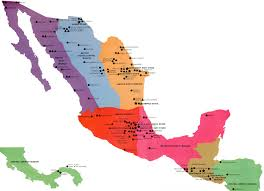 Central Mexico Map by Progress And Potential The Church In Mexico And Central America