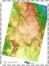 Eritrea Map Photosat Prism Stereo Satellite Mapping Accuracy Study Asmara