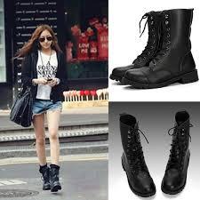 womens boots india buy black lace up boots bazaargadgets com