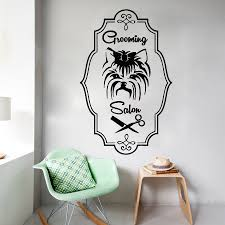 online buy wholesale pet wall decals from china pet wall decals free shipping grooming salon wall decals vinyl wall stickers dog pet shop bedroom decoration home decor