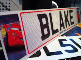 disney pixar cars 2 custom show plate bedroom door sign 8