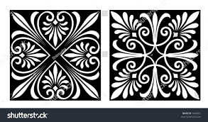 victorian style design elements vector stock vector 3444651