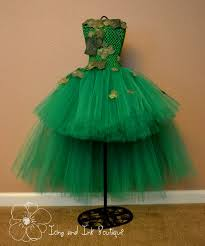 Green Tutu Halloween Costume Poison Ivy Villain Tutu Costume Custom Icingandinkboutique