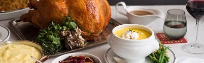 5 restaurants to celebrate turkey day in d c