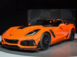Corvette Zr1 Interior Spied 2019 Corvette Zr1 Interior With Automatic Transmission And