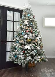 Christmas Home Decor Crafts Diy No Sew Faux Fur Christmas Tree Skirt Hometalk