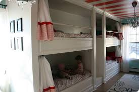 Built In Bunk Bed Bunk Bed Built In Wall How To Decide On The Wall Bunk Bed