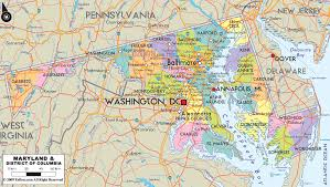 Illinois County Map With Cities by Maryland Road Map Md Road Map Maryland Highway Map Maryland