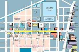 colony mall map lincoln road map shopping hotels south magazine
