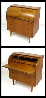 bureau writing desk teak rolltop writing desk bureau hoopers modern