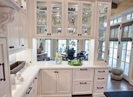 Wall Kitchen Cabinets With Glass Doors Framed Glass Door Wall Kitchen Cabinet Rustic Country Kitchen