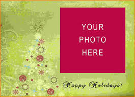christmas card template free free holiday photo cards templates 2