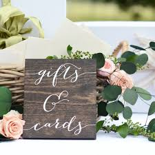 wedding gift signs 31 wooden wedding signs the overwhelmed wedding