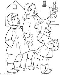 christmas coloring pages kids winter u0026 christmas printable