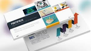 design powerpoint template for all categories business with custom
