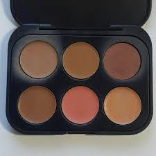 color concealer bh cosmetics 6 color concealer and corrector dark