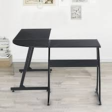 Corner Laptop Desk Greenforest L Shape Corner Computer Office Desk Pc Laptop Table