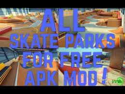 apk true skate true skate mod apk all skateparks for free