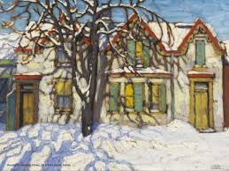 winter season paintings