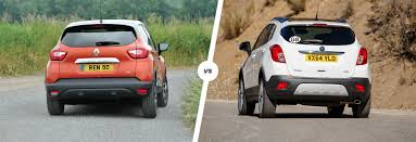 opel renault renault captur vs vauxhall mokka suvs compared carwow