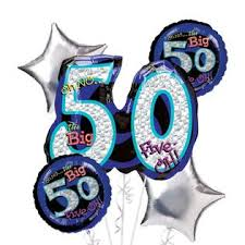 50th birthday balloon bouquets bigbolo 50th birthday balloon bouquet 5pc oh no