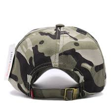 American Flag Camo Hat United States Usa Flag Embroidery Army Special Forces Camouflage