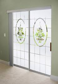 door frosted glass decorate sliding glass doors with frosted glass designs