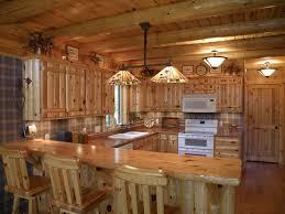 furniture inspiring pine kitchen cabinet with shade lamp