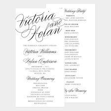 Wedding Program Stationary 44 Best Unique Wedding Programs Images On Pinterest Unique