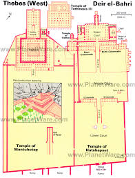 14 top tourist attractions in luxor easy day trips planetware deir el bahri floor plan map