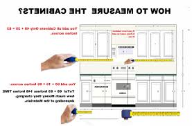 Standard Width Of Kitchen Cabinets by How To Measure Kitchen Cabinets Luxury Ideas 12 28 Hbe Kitchen