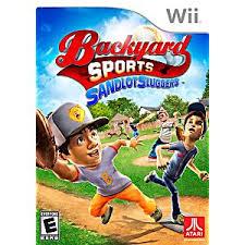 Backyard Sport Games Backyard Sports Sandlot Sluggers Nintendo Wii Game