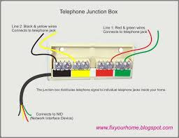 phone wiring diagram telephone outside box within wire agnitum me