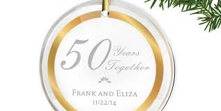 50th anniversary ornaments ornament 50th wedding anniversary gift amazing 50th wedding