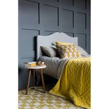 velvet linen bedspread chartreuse niki jones