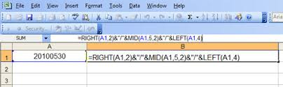 how to concatenate in excel using left mid and right string