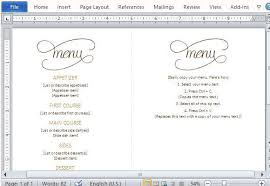 dinner menu templates free dinner menu template 33 free word pdf