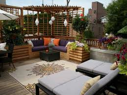 Small Outdoor Rug Exterior Modern Rooftop Terrace Feat Patio Design Also Small