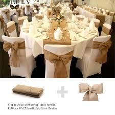 table sashes rustic theme wedding decoration contain burlap chair sashes jute
