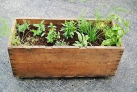 herbs planter diy mobile garden box planter farm fresh therapy