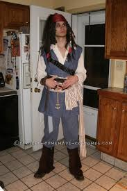 Halloween Jack Sparrow Costume Homemade Captain Jack Sparrow Costume