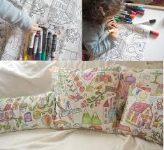 ikea fabric and fabric pens u003d new pillows pillow talk