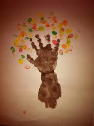 birthday crafts for one year olds autumn tree the one