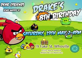 Minecraft Invitation Cards Angry Birds Birthday Invitations Marialonghi Com