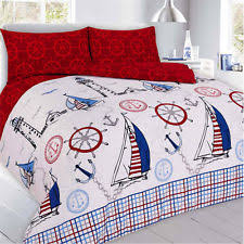 Nautical Bed Sets Children U0027s Nautical Bedding Sets And Duvet Covers Ebay